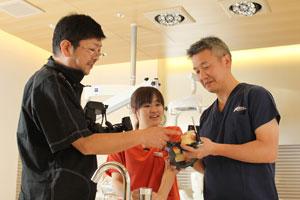 志田和浩先生と院長